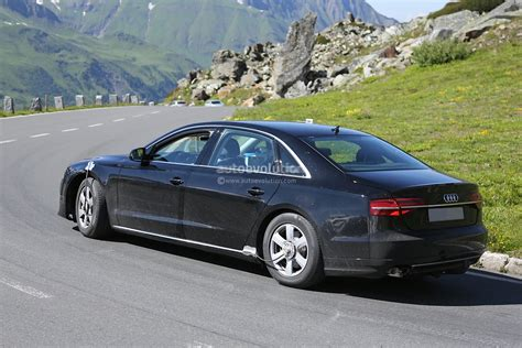 first audi spyshots all new audi a8 for 2016 captured in first