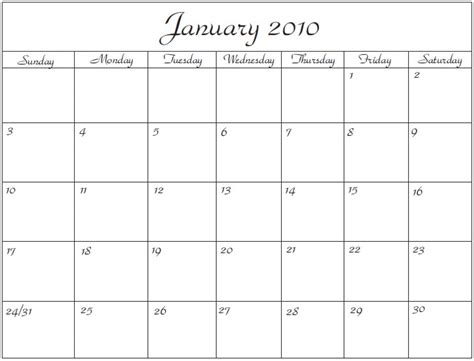 calendar word template great printable calendars