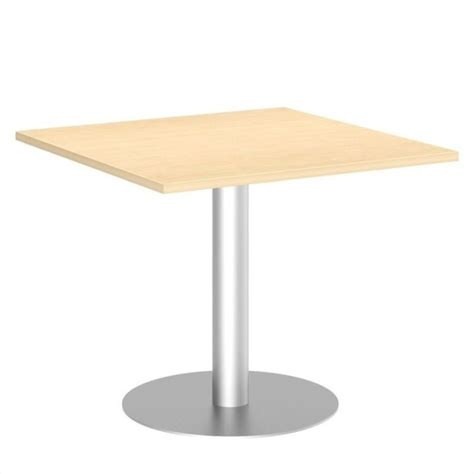 Metal Conference Table 36 Inch Square Conference Table Kit Metal Disc Base 99tbd36sacsvk