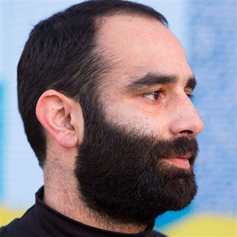 hair style and gap between chin and ear lobe mysteries of the beard all about beards