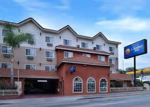comfort inn los angeles california book comfort inn near universal studios hollywood los