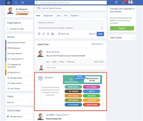 Edmodo Phone Number | why am i seeing this promoted post edmodo help center
