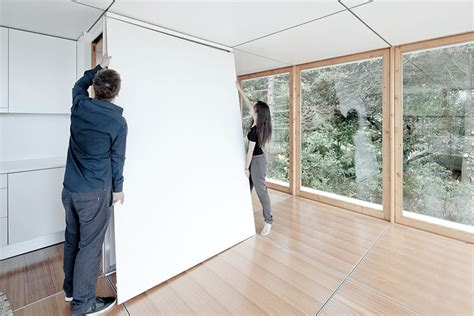 Moving Interior Walls by Prefab Tiny House Design
