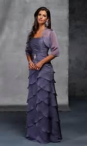 chiffon layered dress mother of bride dress on sale