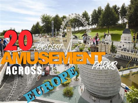 theme park europe best 20 biggest amusement parks in europe youtube