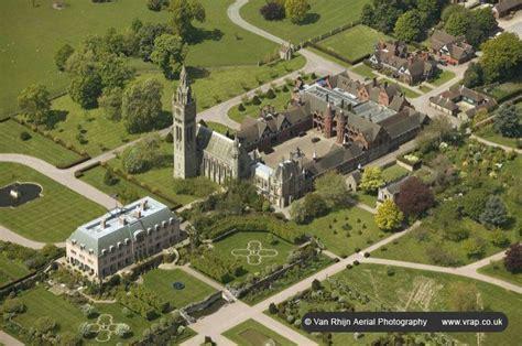 Tudor Home by Aerial Photograph Eaton Hall Cheshire Van Rhijn