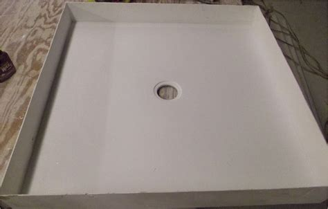 Custom Shower Base by Pin Custom Shower Bases And Pans Any Shape Size Or Drain