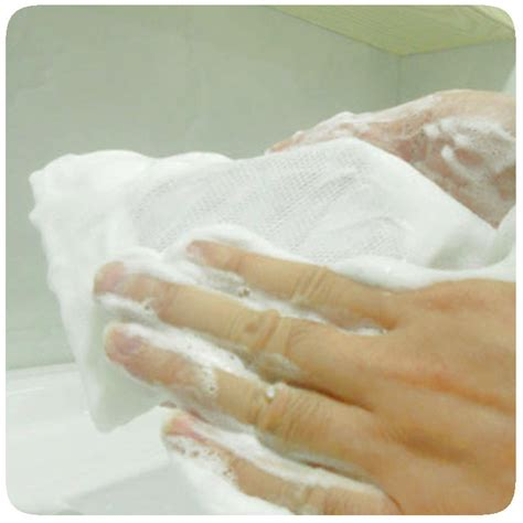 j433 foaming bath soap foaming net for buy