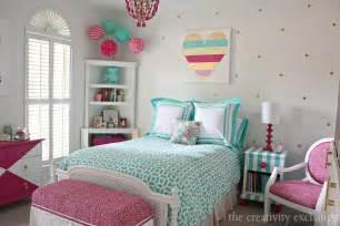 tween bedrooms for little girl s room reved to bright and bold tween room