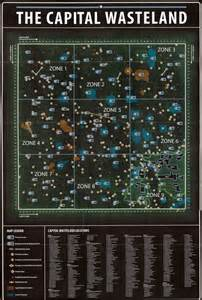 Fallout 3 World Map by Fallout 3 Find Map