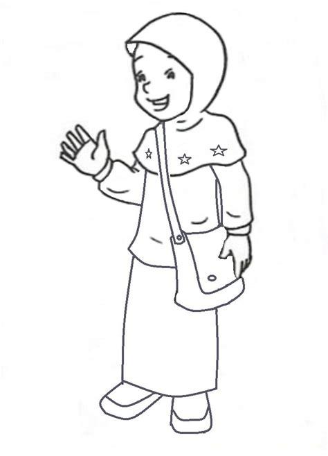 Jam Weker Muslimah gambar mewarnai gambar baju muslimah muslim di rebanas