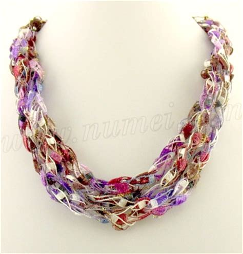 free pattern ladder yarn necklace ladder yarn crochet necklace patterns free crochet patterns