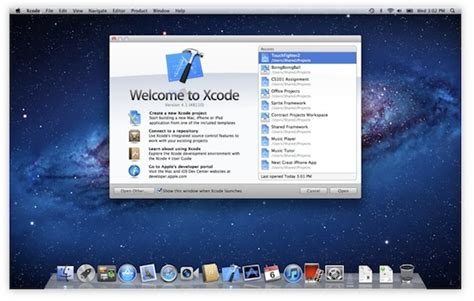xcode osx layout xcode 4 1 for os x lion released as free download on mac