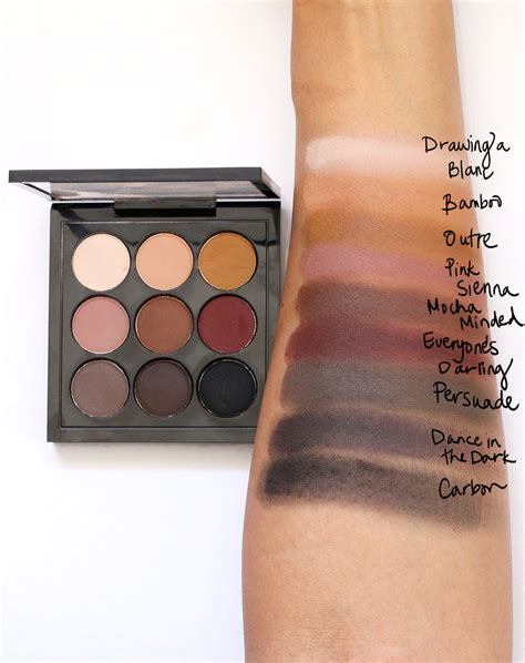 Eyeshadow X 9 Times Nine Tutorial mac on mac semi sweet times nine makeup and