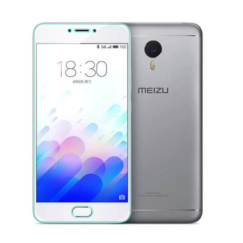 Tempered Glass Meizu Note makibes tempered glass for meizu meilan note 3 meizu m3 note