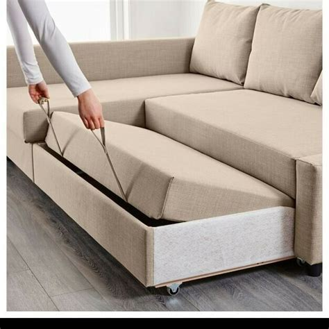 ikea corner sofa bed  cheap quality easy pull  sofa bed  sale  great barr west