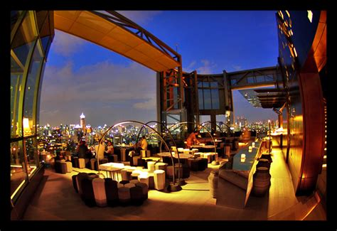 bangkok roof top bar sofitel so bangkok sister tour
