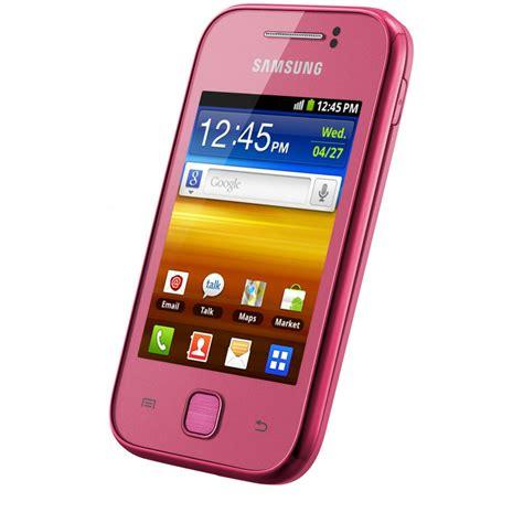 Samsung Galaxy Y Gt S5360 Gsm samsung samsung galaxy y gt s5360 sim free smartphone pink samsung from powerhouse je uk