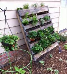 Vertical Garden Planter Garden Styling With Pallet Vertical Planter Wooden