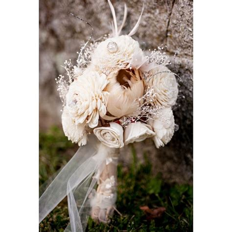 29 best images about shabby chic wedding bouquets on pinterest