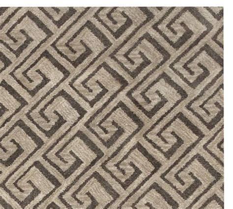 Tufted Rug Grayson Tufted Rug Swatch Taupe Pottery Barn