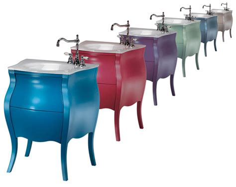 Colored Vanity by Bon Bon By Ypsilon Colored Small Bathroom Vanity