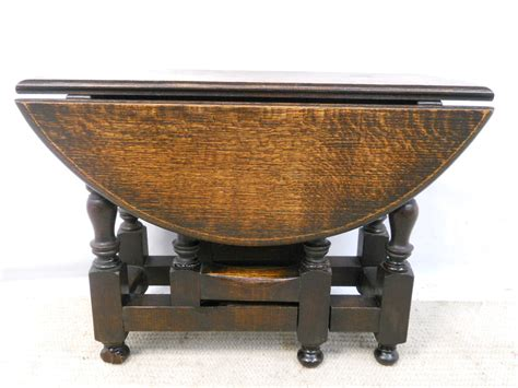 Small Oak Gateleg Coffee Table Gateleg Coffee Table
