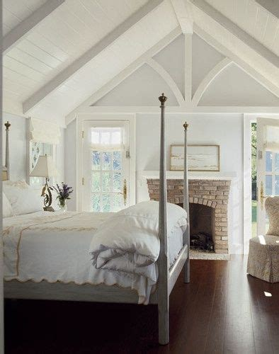 cathedral ceiling bedroom fireplaces plank ceiling and vaulted ceilings on pinterest