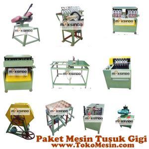Jual Pemutih Gigi Di Bandung jual mesin tusuk gigi paket komplit di bandung toko mesin maksindo bandung toko mesin