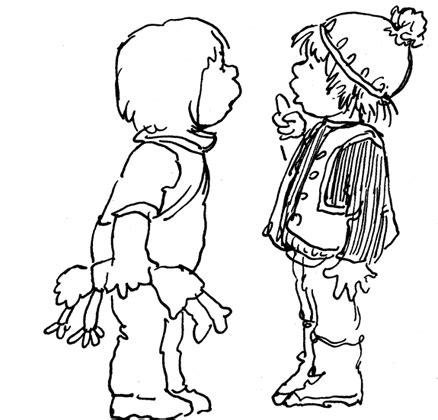 kid talking coloring page talking to each other coloring page sketch coloring page