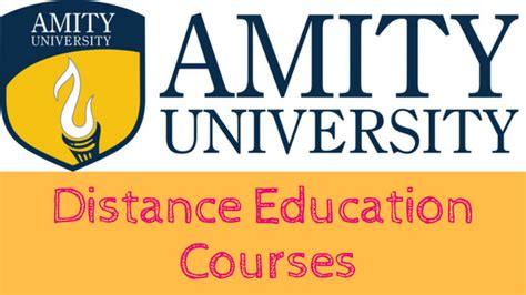 Amity Correspondence Mba Fees by Distance Education India Courses Admission News