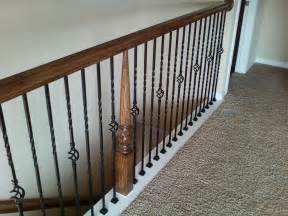 Wrought Iron Banister Spindles by Wrought Iron Stair Balusters Newsonair Org