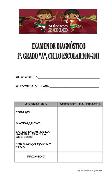 examenes montenegro 5 grado montenegro examen de diagnostico 5 grado