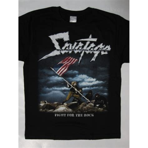 Tshirt Savatage savatage fight for the rock t shirt