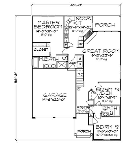 Chicago Bungalow Floor Plans by Two Bedrooms Photos Two Bedrooms Images Ravepad The