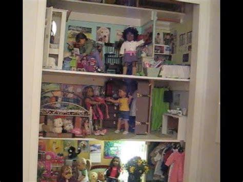 American Doll Room Tour by Basilmentos Doll House Tour 2013