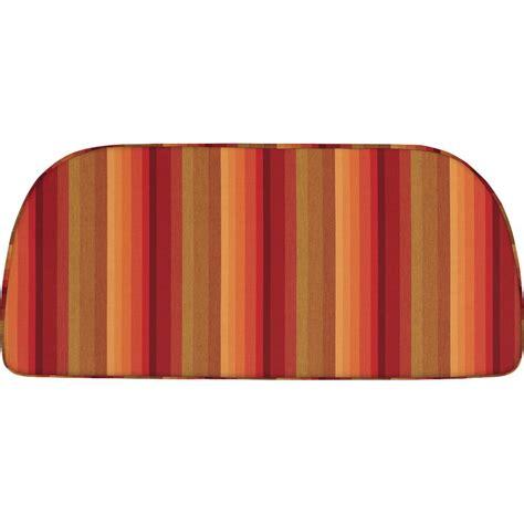 sunbrella bench cushion home decorators collection sunbrella henna outdoor bench