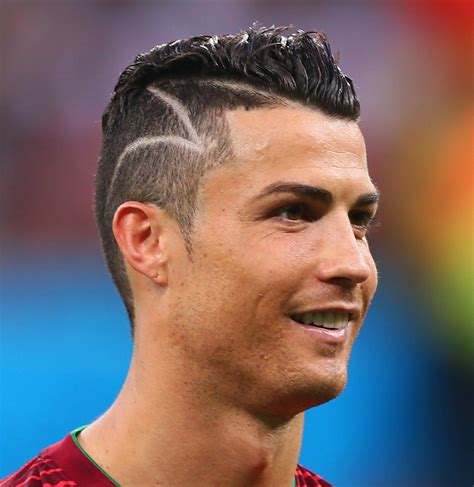 ronaldo hair how to do cristiano ronaldo haircut