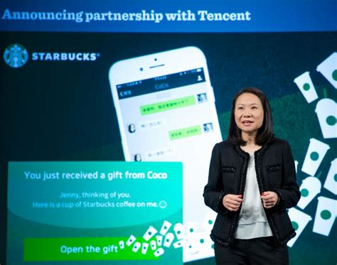 Send Starbucks Gift Card Via Text Message - you can now use wechat wallet at starbucks that s shanghai