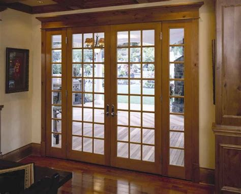 Wooden Patio Door Adorable Patio Door Ideas For Your Beautiful Home Classic Style Wooden Patio Door