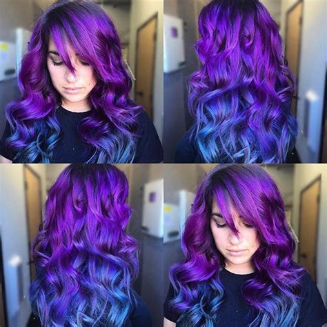 blue purple color 25 best ideas about midnight blue hair on