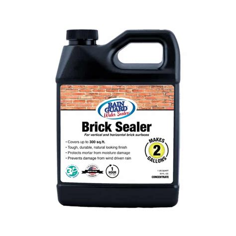 Is Exterior Paint Waterproof - premium grade brick sealer water repellent for brick mortar rainguard