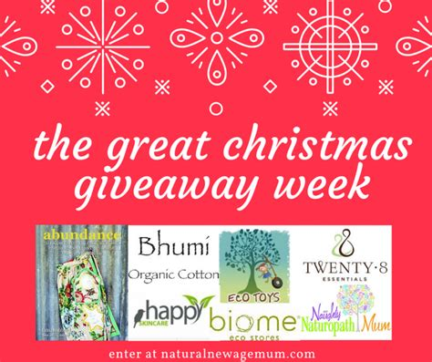 The Great Christmas Giveaway - bhumi organic cotton giveaway natural new age mum