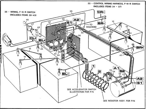 ez go wiring diagram 36 volt 28 wiring diagram images