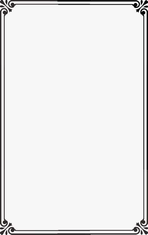 imagenes en negro word borde negro retro simple moda png image para descarga