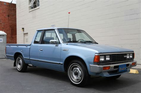 nissan california set up image gallery 1984 nissan datsun 720