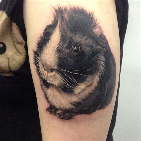 guinea pig tattoo 7 best liz pig ideas images on guinea