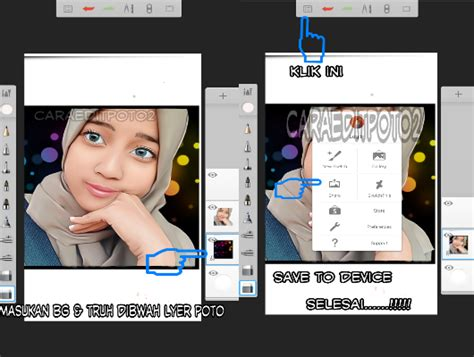 tutorial smudge di sketchbook android belajar edit foto smudge painting android dari pemula
