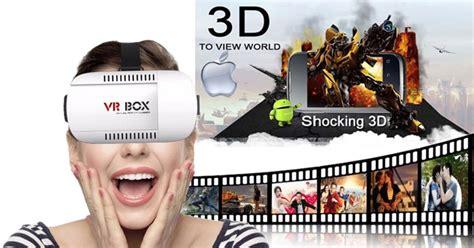 Reality Vr Box 3d vr box 3d reality glasses cardboard bluetooth joystick gamepad uk ebay