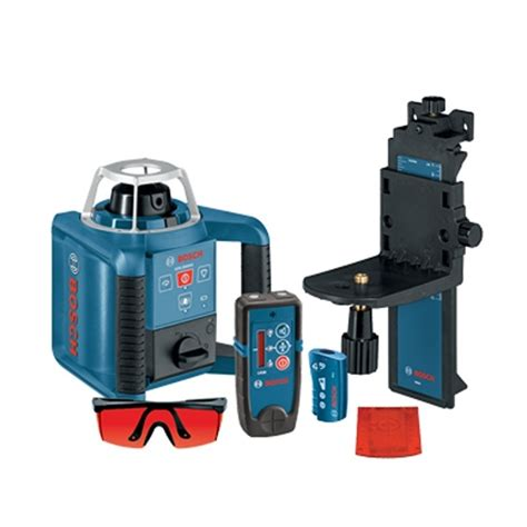 Kacamata Laser Laser Goggles Bosch bosch grl300hvd self leveling rotary laser interior kit